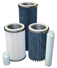 filters for pneumatic conveying systems
