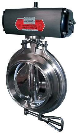 valve for pneumatic conveying systems