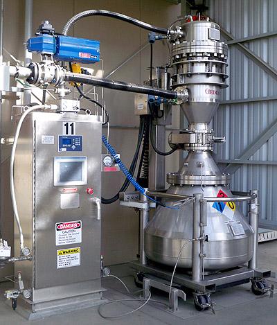 powder reclamation system