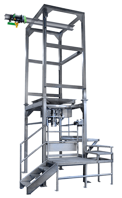 Custom Bulk Bag Unloading Systems